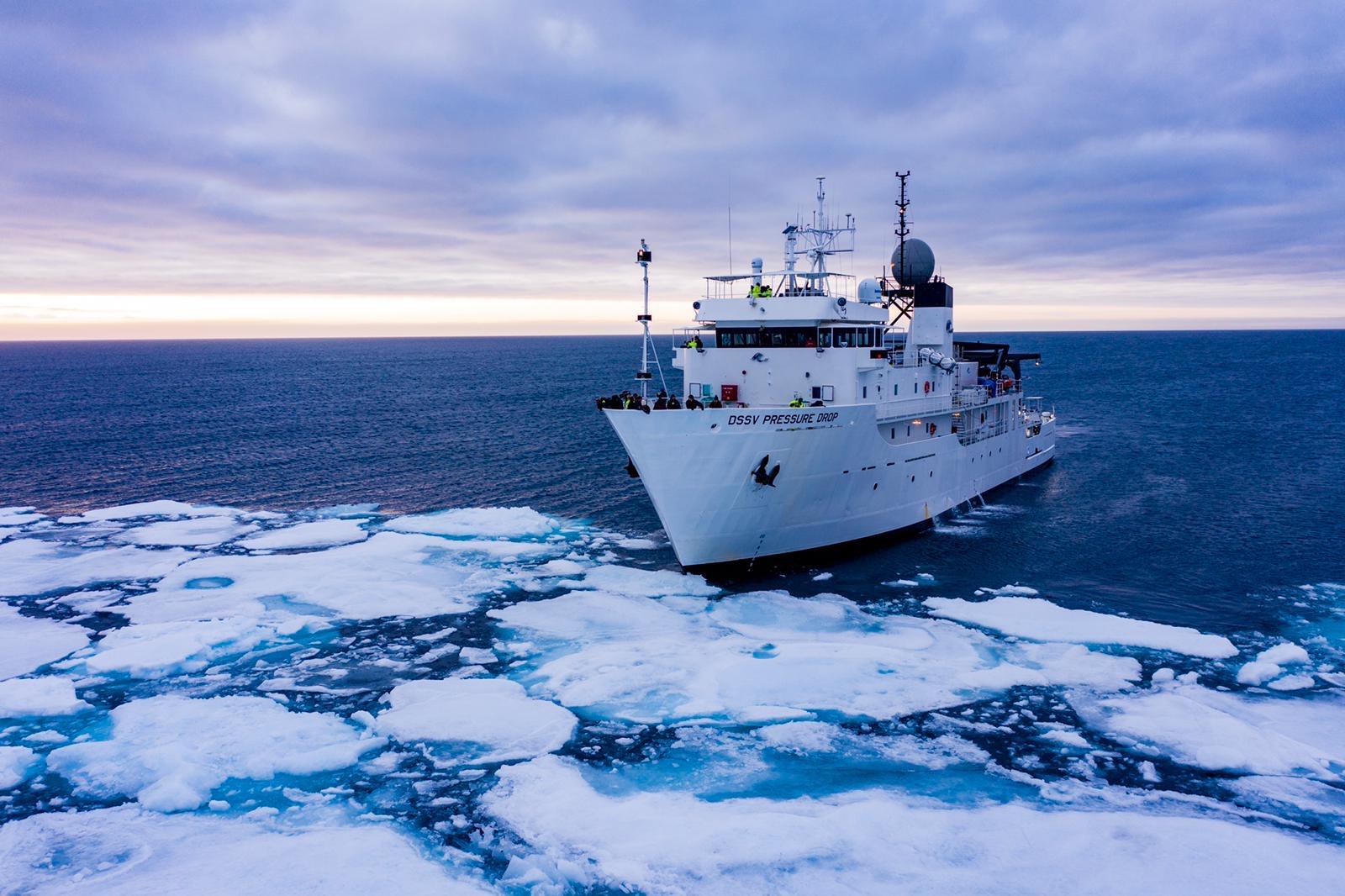DSSV Pressure Drop Approaching Sea-Ice