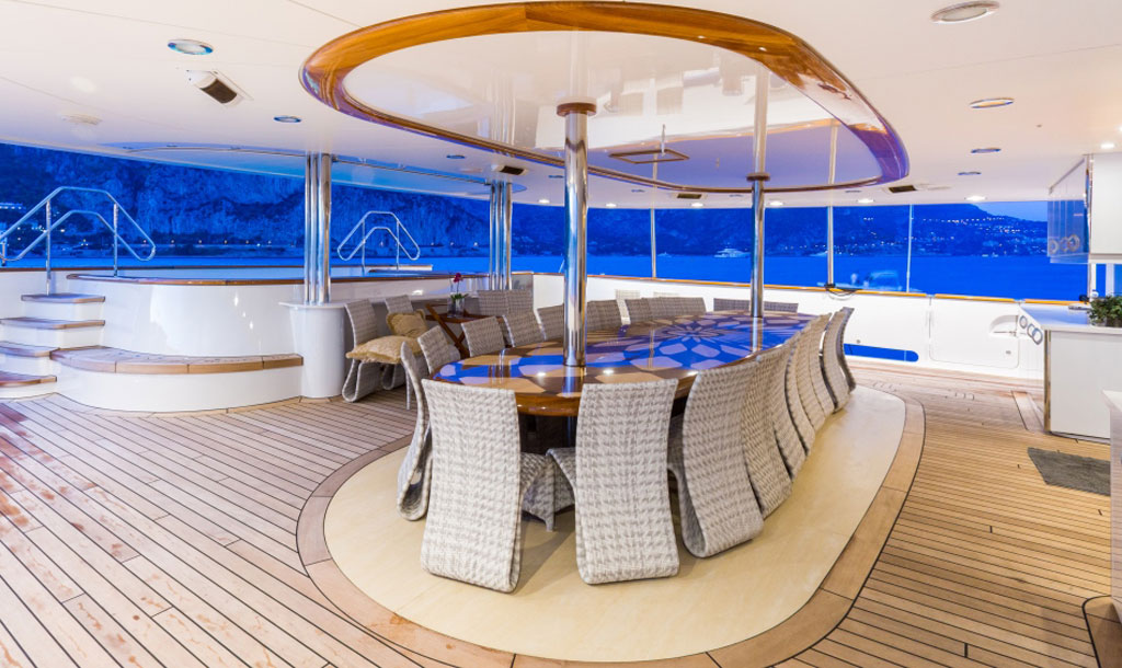 EYOS Expedition Legend Yacht Deck