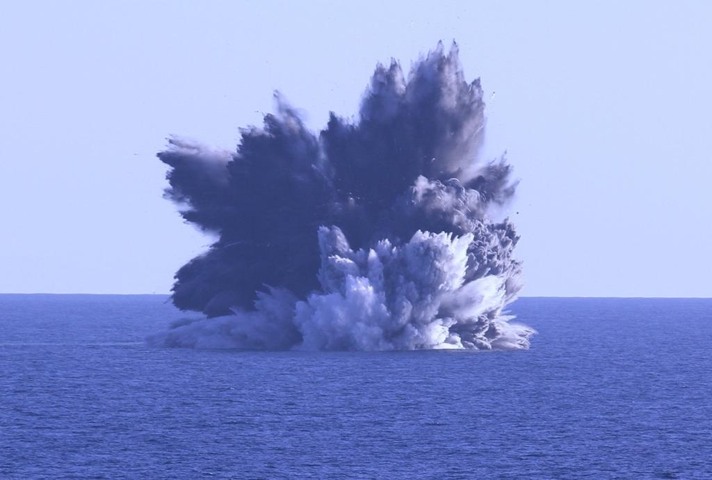 Kavachi subsea volcano