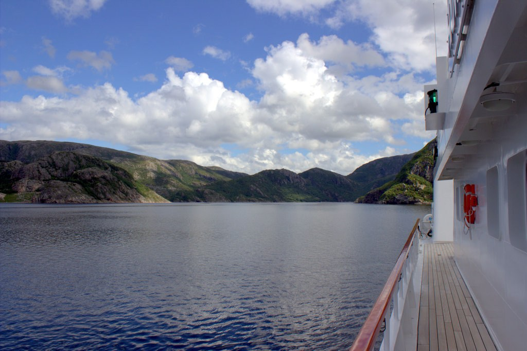 Norway fjords from Hanse Explorer