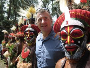 Rob McCallum on expedition in Papua New Guinea