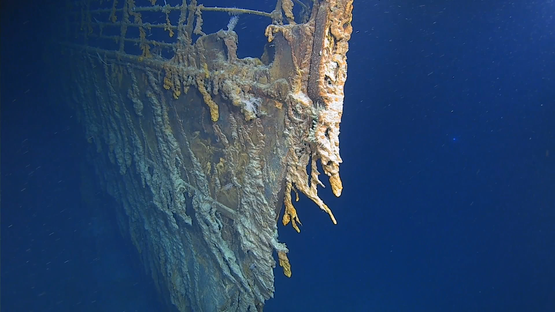 RMS Titanic's bow