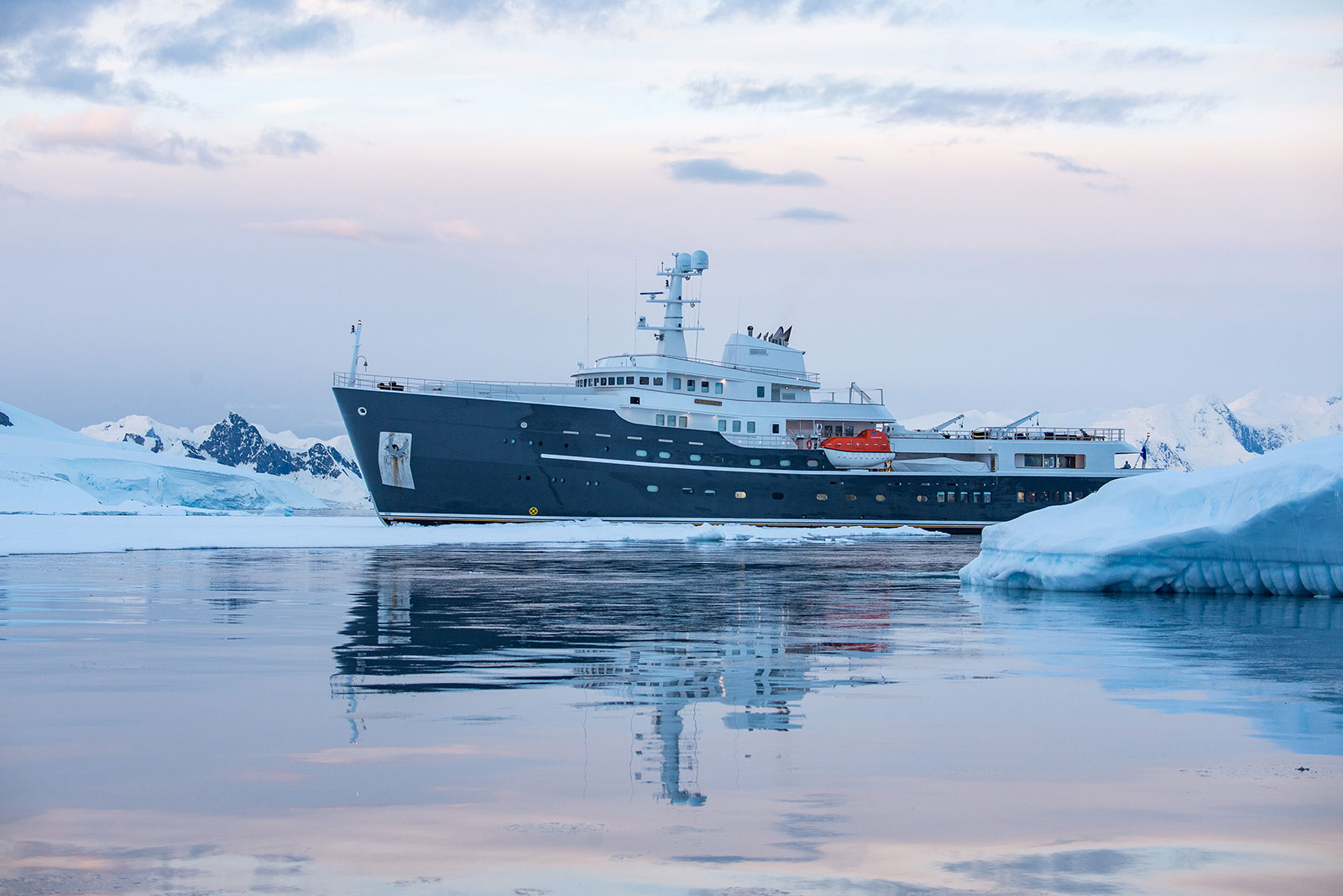 Legend Expedition Yacht in Antarctica