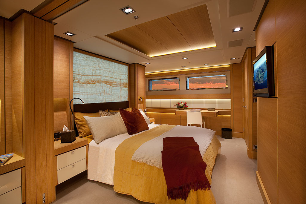 Big Fish luxury expedition yacht interior - guest stateroom