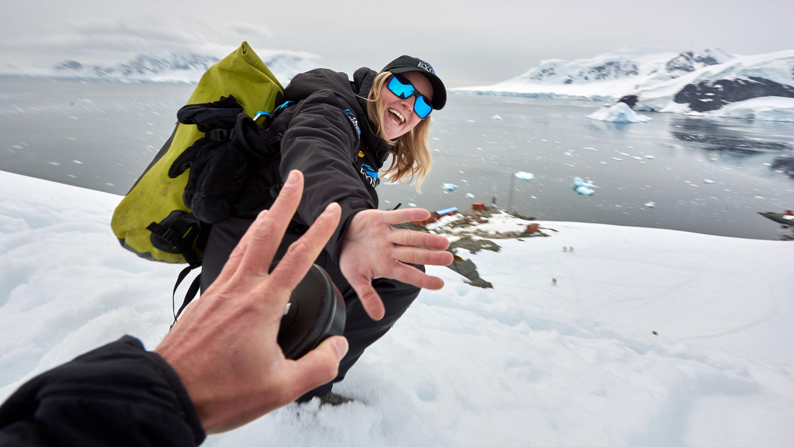 Glacading in Antarctica