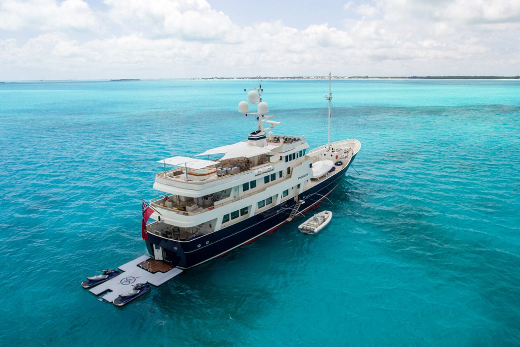 Pioneer luxury expedition yacht