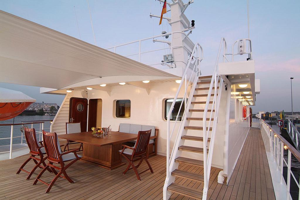 Hanse Explorer Luxury Expedition Yacht