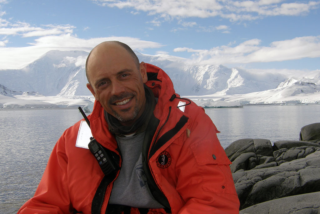 Richard White of EYOS Expeditions