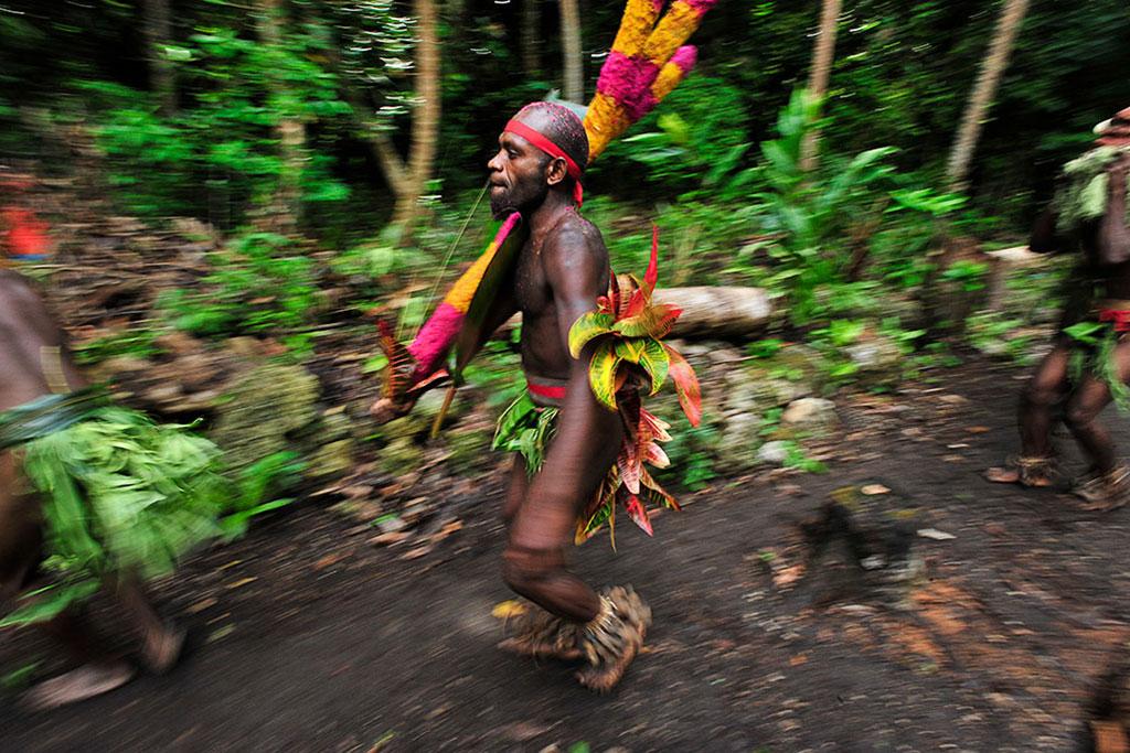 man in Vanuatu