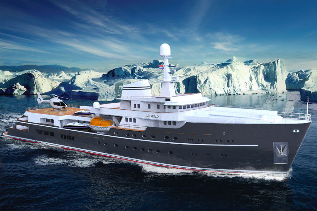 Legend Luxury Charter Expedition Yacht Eyos Expeditions