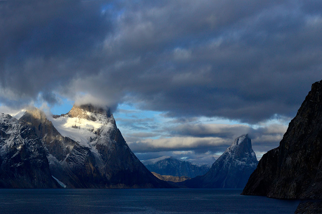 Northwest Passage mountains