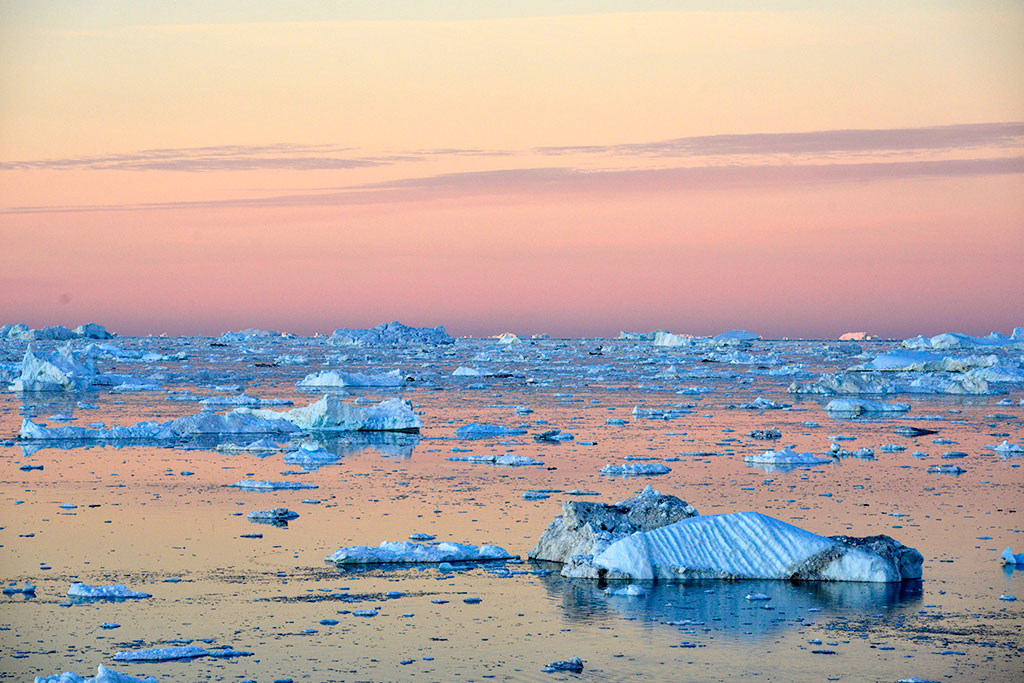 Northwest Passage sunset