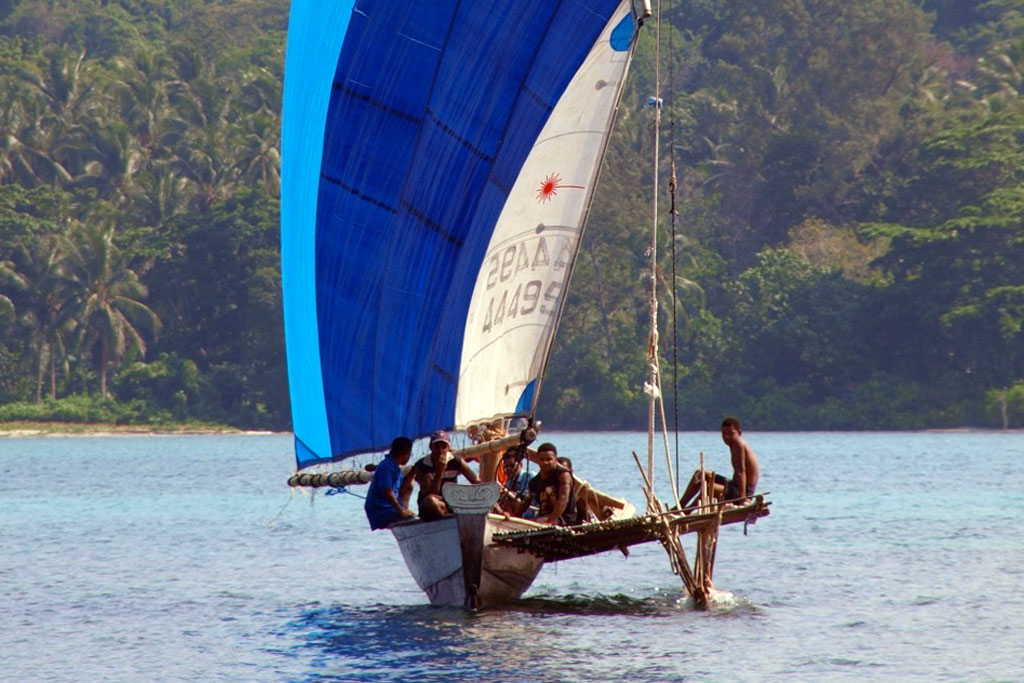sailing in Papua New Guinea