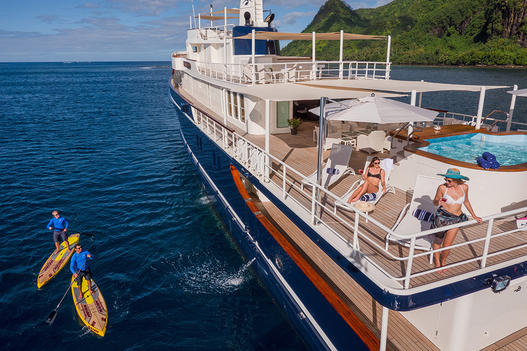 Sea Wolf Expedition Yacht Pool