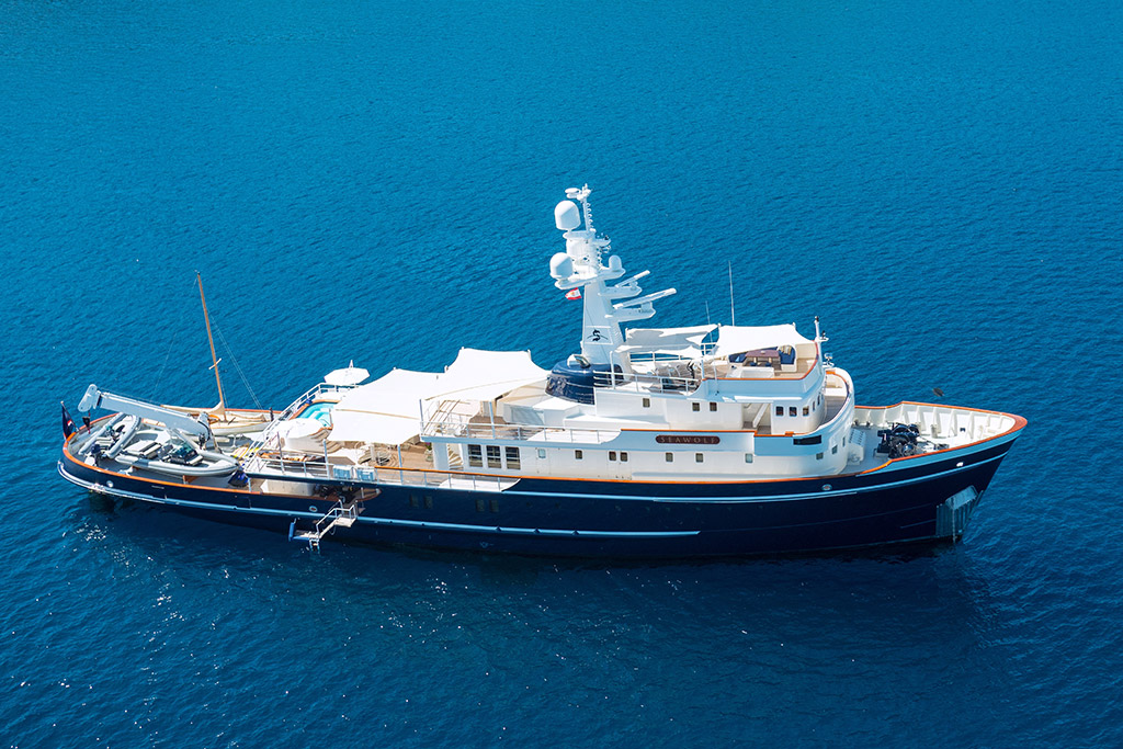 Sea Wolf Luxury Expedition Yacht Charter EYOS Expeditions