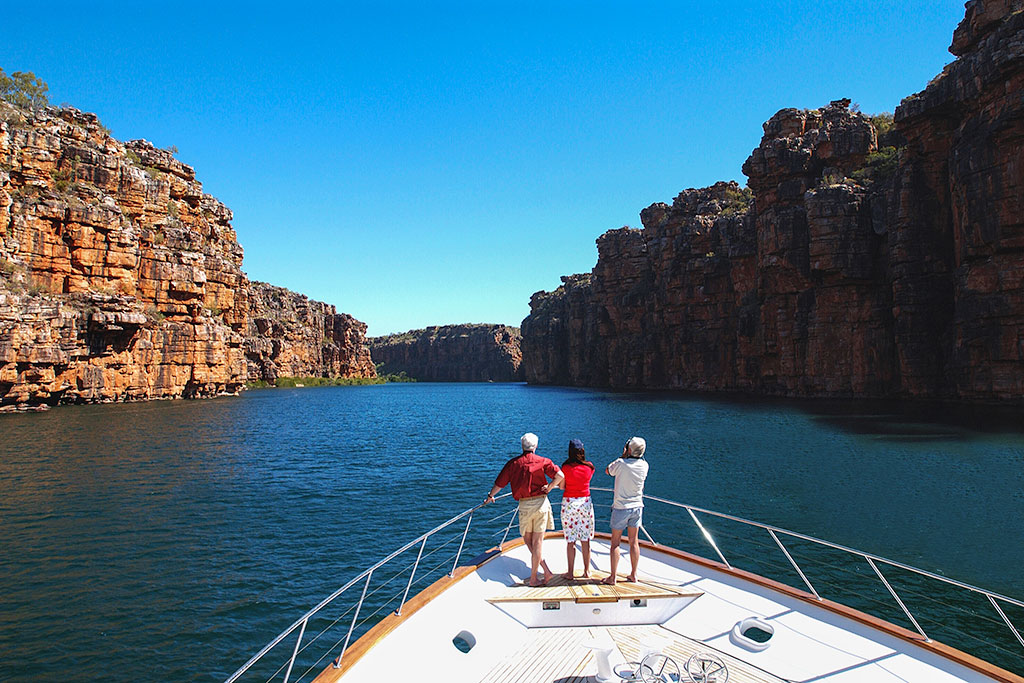 Private Yacht on the King George River, The Kimberley, Australia