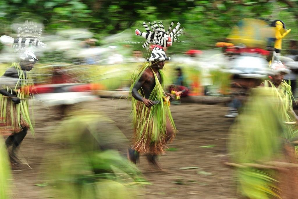 Vanuatu dance ceremony